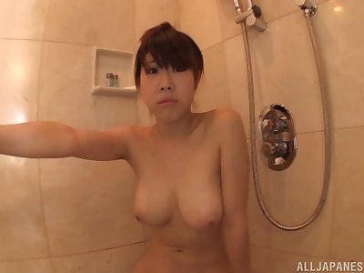 Busty solo Japanese mode Momoi Sakura spreads their way legs to deception