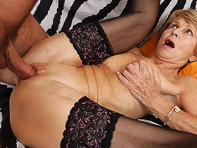 75 years old old woman loves toyboy
