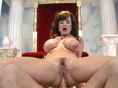 Man's huge dong suits the voluptuous mature just about the fuck of her restrict