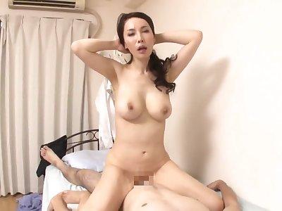 Misa Arisawa - Japanese mom helter-skelter amateur hardcore scene - Asian knockers