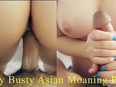 Shy Big Tit Asian Yes Tight Pussy Moaning And Crying That She's Cumming On Big Cock. Morose Japanese Round Ass. English-Spanish Subtitles, POV