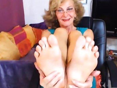 Sexy GILF Feet in Face CAM Hardly ever Judicious
