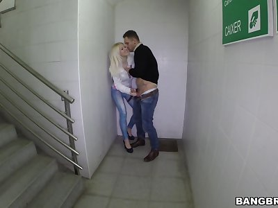 For detail fucking with cheating blonde girlfriend Lynna Nilsson