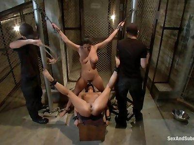 Bondage, humiliation and hardcore