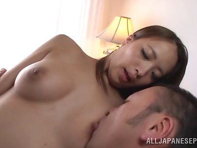 Acrobat girl Miyu Kotohara likes all different sexual connection poses with her lover