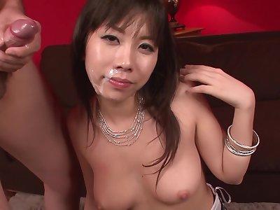 Big Titted Hina Tokisaka Gives A Great Japan Blowjob